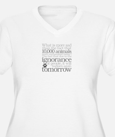 Save The Animals Plus Size T-Shirt