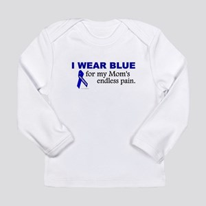I Wear Blue For My Mom's Pain Long Sleeve T-Shirt
