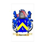Appleyard Sticker (Rectangle 50 pk)