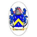 Appleyard Sticker (Oval 50 pk)