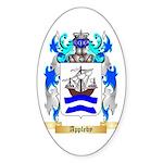 Appleby Sticker (Oval 50 pk)