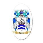Appleby 20x12 Oval Wall Decal