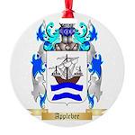 Applebee Round Ornament