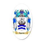 Applebe Oval Car Magnet