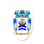 Apperly Oval Car Magnet