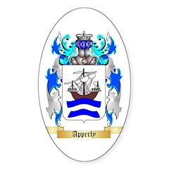 Apperly Sticker (Oval 10 pk)