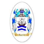 Apperly Sticker (Oval 50 pk)