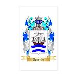 Apperley Sticker (Rectangle 50 pk)