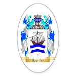 Apperley Sticker (Oval 50 pk)