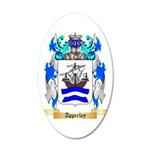 Apperley 35x21 Oval Wall Decal