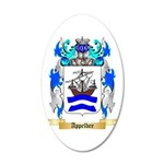Appelbee 20x12 Oval Wall Decal