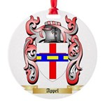 Appel Round Ornament