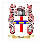 Appel Square Car Magnet 3
