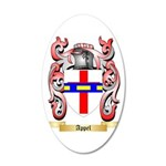 Appel 35x21 Oval Wall Decal