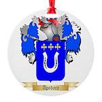 Apodaca Round Ornament