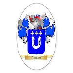 Apodaca Sticker (Oval 50 pk)