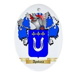 Apodaca Ornament (Oval)