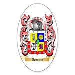 Aparicio Sticker (Oval)