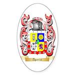 Aparici Sticker (Oval 50 pk)