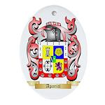 Aparici Ornament (Oval)