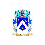 Aoustin Sticker (Rectangle 50 pk)