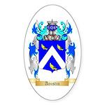 Aoustin Sticker (Oval 10 pk)