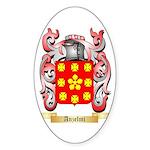 Anzelmi Sticker (Oval)