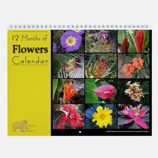 No1. Flower Wall Calendar