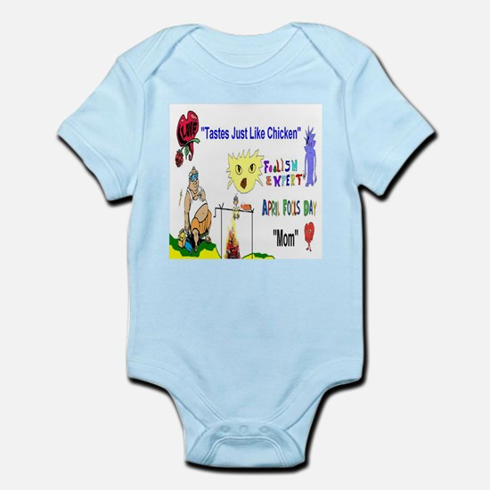 April Fools Day Mom Body Suit