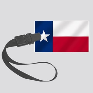 Texas State Flag Large Luggage Tag