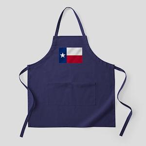 Texas State Flag Apron (dark)