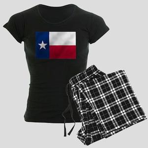 Texas State Flag Women's Dark Pajamas