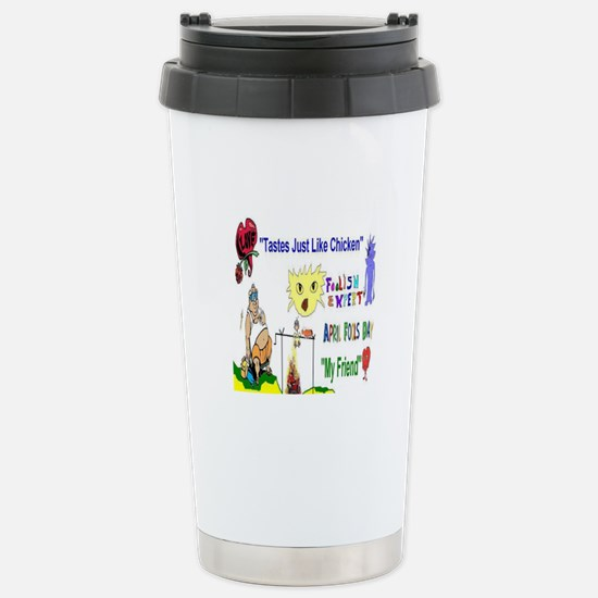 April Fools Day Friend Travel Mug