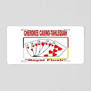 CHEROKEE CASINO-TAHLEQUAH Royal Flush Aluminum Lic