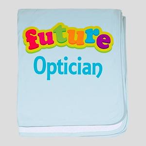 Future Optician baby blanket