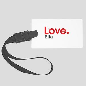 Love Ella Luggage Tag