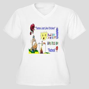 April Fools Day Redneck Plus Size T-Shirt