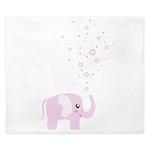 Cute elephant King Duvet