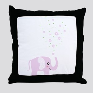 Cute elephant Throw Pillow