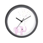 Cute elephant Wall Clock