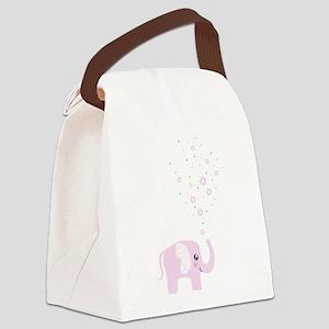 Cute elephant Canvas Lunch Bag