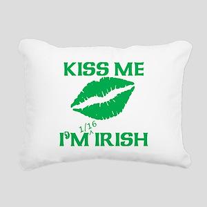 1/16 Irish Rectangular Canvas Pillow