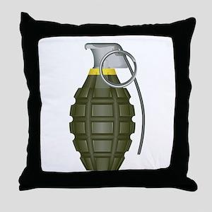 Grenade Throw Pillow