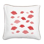 Kiss Original Square Canvas Pillow