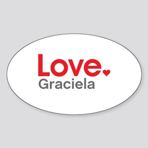 Love Graciela Sticker