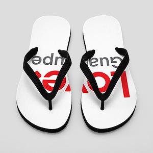 Love Guadalupe Flip Flops