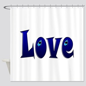 Adorable Love Shower Curtain