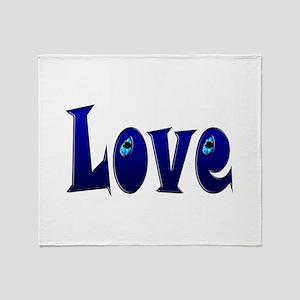 Adorable Love Throw Blanket