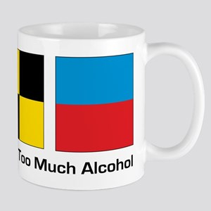patient too much alcohol Mug