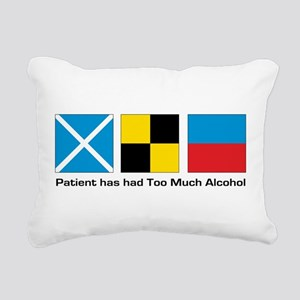 patient too much alcohol Rectangular Canvas Pi